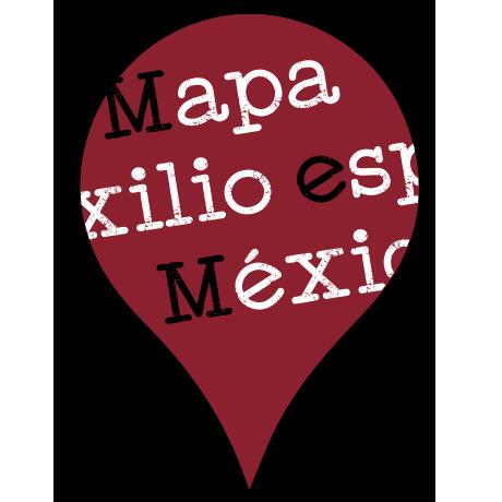 Mapa colaborativo del Exilio español en México